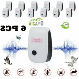 1/6X Ultrasonic Pest Reject Home Control Electronic Repellen