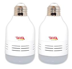 PIC 2-in-1 LED 65W Sonic Rodent Repeller Bulb Repels Mice, R