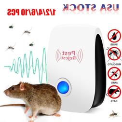 10* Pest Repeller Reject Ultrasonic Electronic Mouse Rat Mos