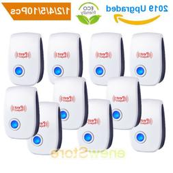 10pack ultrasonic mosquito pest repellent mice rat