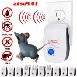 10X 2019 ELECTRONIC ULTRASONIC PEST REPELLER CONTROL RAT COC