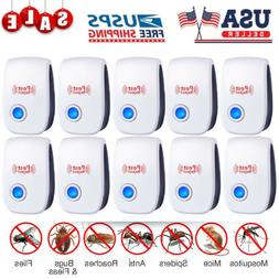 10x electronic ultrasonic pest reject mosquito cockroach