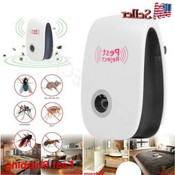 10x Electronic Ultrasonic Pest Reject Mosquito Cockroach Mou