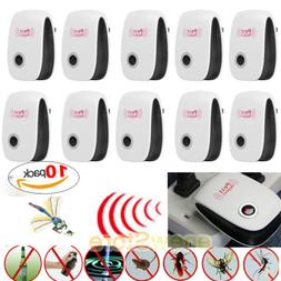 Lot Electronic Ultrasonic Pest Reject Mosquito Cockroach Mou