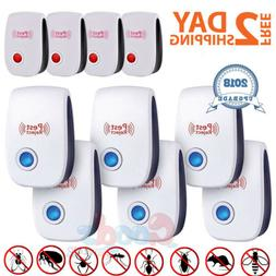 10x Electronic Ultrasonic Pest Repeller Reject Mosquito Cock