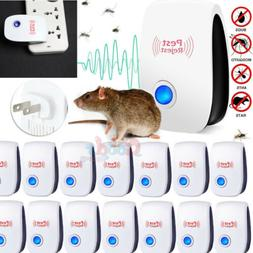 10X Pest Reject Pro Ultrasonic Repeller Home Bed Bug Mites S