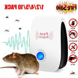 10x Pest Repeller Reject Ultrasonic Electronic Mouse Rat Mos