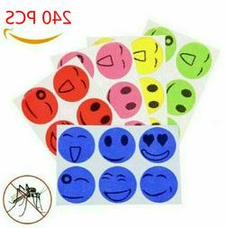 120PCS MoskiPatch Mosquito Bugs Repellent Natural Non Toxic