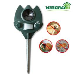 Ultrasonic Animal Repeller Dog, Cat Repellent for Home/Garde