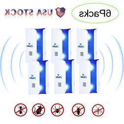 2019 Ultrasonic Pest Repeller  Plug in Electronic Insect and