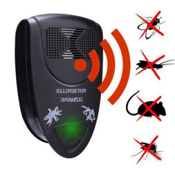 2019 Ultrasonic Pest Repeller Control Bed Bugs Fleas Spiders