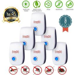 2x Ultrasonic Pest Repeller Electronic Plug In Control Repel