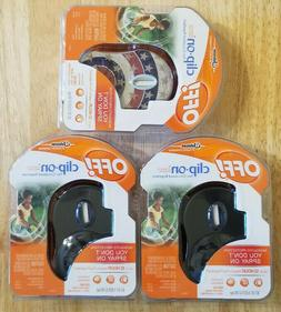 3 NEW Off! Clip On Fan Mosquito Repellent Protection 12 Hour