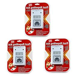 3 Riddex Plus Pest Repellent for Rodents, Roaches, Ants, Spi