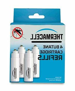 4 Pack Thermacell 48-Hour Mosquito Relief Repellent Refill F