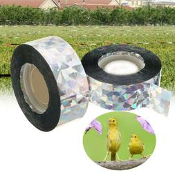 45/90M Bird Scare Tape Audible Repellent Pigeons Fox Repelle