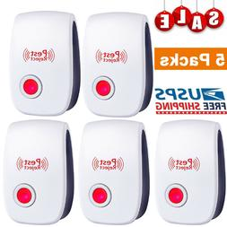 5 x ultrasonic pest reject electronic magnetic