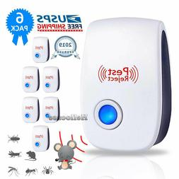 1/2/4 2019 Ultrasonic Pest Repeller Control Electronic Repel