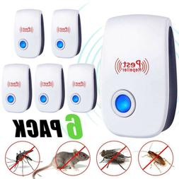 6PCS Ultrasonic Pest Repeller Control Electronic Repellent M