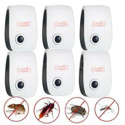 6x Electronic Ultrasonic Sonic Mouse Pest Rodent Repeller Re