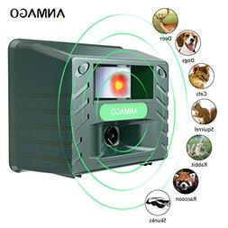 Anmago Animal Repellent Ultrasonic, Outdoor Electronic Pest