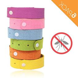 Anti Mosquito Wristband, Repellent Bracelet with Natural Cit