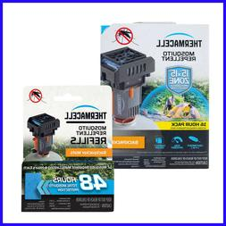 Thermacell Backpacker 64 Hour Kit Mosquito Repeller with 48