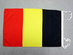AZ FLAG Belgium Flag 18'' x 12'' Cords - Belgian Small Flags
