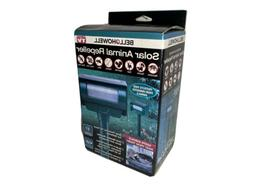 Bell and Howell Solar Animal Repellent Motion Activated ~ Ne