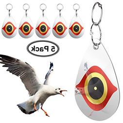 Bird Repellent,Predator's Eyes and Light Reflective To Scare