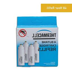 Thermacell??C-4 Butane??Cartridge Refill 4-Pack Mosquito Spa