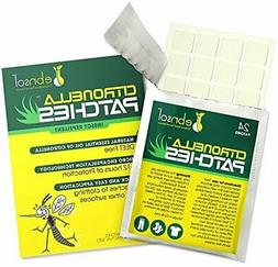 ebnsol Citronella Patches Natural Mosquito Repellant and Fly