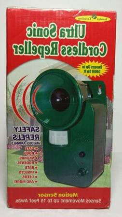 Garden Creations JB5028 Ultrasonic Cordless Pest Repeller