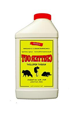 Critter Out Pest Repellent Concentrate for Rats Rodents Make