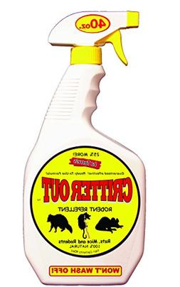 Mouse, Rat and Rodent Repellent: Critter Out 40oz Ready-To-U