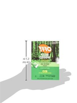 Deep Woods Off Deep Woods Insect Repellent Wipes 12-Towelett