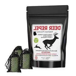 Deer Repel Natural Repellent Pouches Stop Deer and Rabbits E