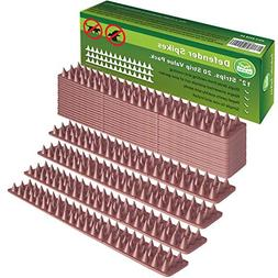 Defender Spikes 20pk  Cat Repellent  Outdoor Fence Security