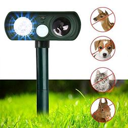 Dog Repellent, Outdoor Solar Powered and Weatherproof Ultras
