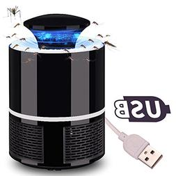 ALLOMN Electric Mosquito Killer Lamp, USB Powered Trap Insec