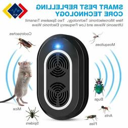 electronic 2pack ultrasonic pest repeller killer mosquitoes