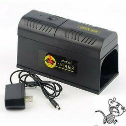 Electronic Mice Rat Killer Rodent Repeller Electric Trap Zap