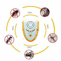 Electronic Plug In Pest Repellent with  Night Light and Pet