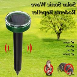 <font><b>Outdoor</b></font> Ultrasonic Pest Repeller Garden