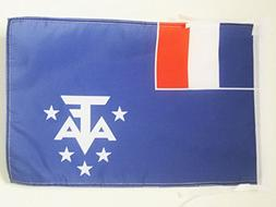 AZ FLAG French Southern and Antarctic Lands Flag 18'' x 12''