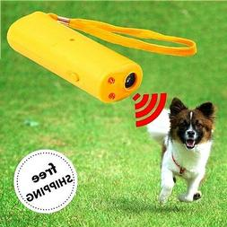 Friend LED Ultrasonic Dog Repeller and Trainer Device 3 in 1