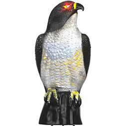Hoont Garden Scarecrow Eagle Decoy by with Scary Flashing Ey