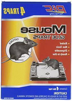 Pic GT4 Glue Mouse Tray, 4-Pack