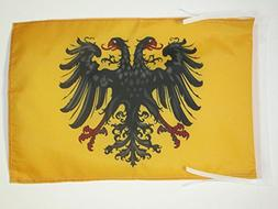 AZ FLAG HOLY Roman Empire 962-1806 Flag 18'' x 12'' Cords -