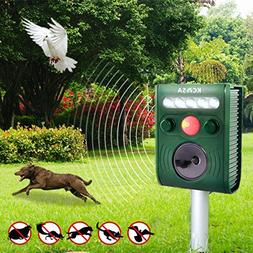 KCASA KC-JK369 Garden Ultrasonic PIR Sensor Solar Animal Rep